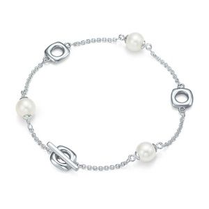 Tiffany & Co Sterling Silver & Freshwater Pearl br